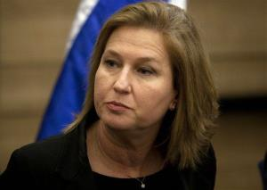 In this Wednesday, Nov. 30, 2011 file photo, Tzipi Livni attends a news conference at the Knesset, Israel's parliament, in Jerusalem.