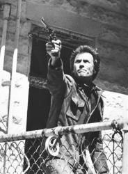 This 1975 photo from ABC shows Clint Eastwood as Dirty Harry in The Enforcer.