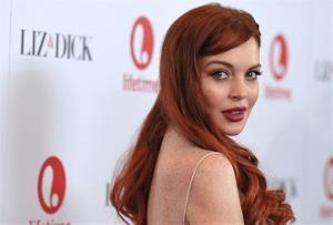Actress Lindsay Lohan attends a dinner celebrating the premiere of Liz & Dick at the Beverly Hills Hotel on Tuesday, Nov. 20, 2012, in Beverly Hills, Calif.