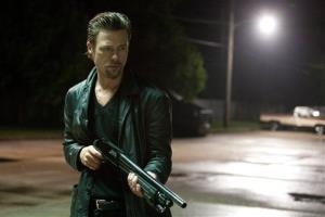 This film image released by The Weinstein Company shows Brad Pitt in a scene from Killing Them Softly.