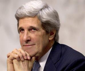 Sen. John Kerry, D-Mass., is seen on Capitol Hill in Washington on Feb. 28, 2012.