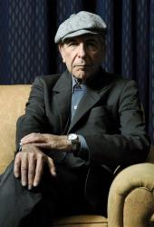 Leonard Cohen is photographed in Toronto in this Feb. 4, 2006, file photo.