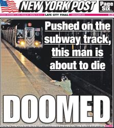 The 'New York Post' tweeted its controversial cover.
