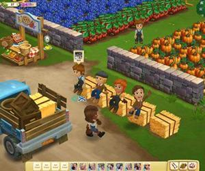 This undated image provided by Zynga shows a screenshot of Farmville 2, announced on Wednesday, Sept. 5, 2012.