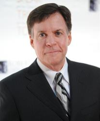 This Nov. 17, 2010 file photo shows sports commentator Bob Costas at the Robert F. Kennedy Center for Justice and Human Rights.