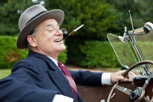 This film image released by Focus Features shows Bill Murray as Franklin D. Roosevelt in a scene from Hyde Park on Hudson.