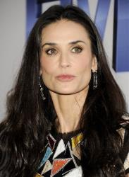 Director Demi Moore attends the Lifetime and Sony Pictures Television premiere screening Five at Skylight SoHo on Monday, Sept. 26, 2011 in New York.