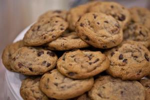 There may be something besides chocolate chips in these...