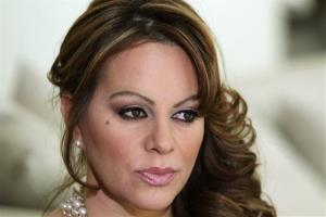 Mexican-American singer and reality TV star Jenni Rivera poses during an interview in Los Angeles earlier this year.