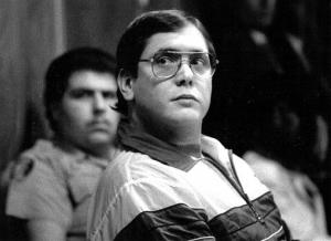 In this 1988, file photo, Manuel Pardo, found guilty of nine counts of murder, listens as his sentence is read.