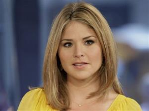 Jenna Bush Hager, special contributor for the NBC Today television program, appears on the show in New York.