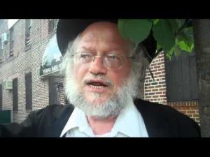 Rabbi Nuchem Rosenberg was allegedly the victim of a chemical attack.