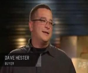 Dave Hester is seen in this screenshot from an episode of 'Storage Wars.'