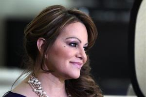 In this picture taken March 8, 2012, Mexican-American singer and reality TV star Jenni Rivera poses during an interview in Los Angeles.