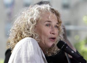Carole King performs on the NBC Today program in 2010.