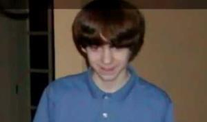 An undated photo of Adam Lanza.