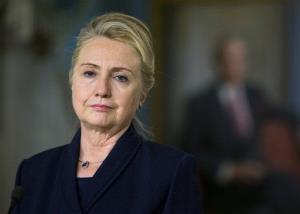 Secretary of State Hillary Clinton in November.
