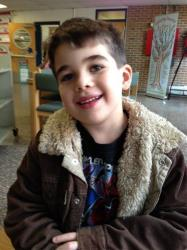 This Nov. 13, 2012 photo provided by the family via The Washington Post shows Noah Pozner. The six-year-old was one of the victims in the Sandy Hook elementary school shooting in Newtown.