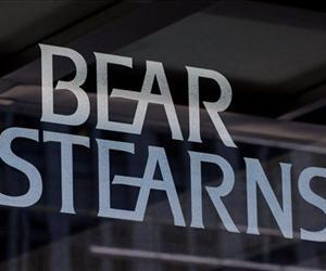 In this July 18, 2007 file photo, the logo for Bear Stearns is shown at its corporate headquarters in New York.