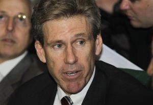 A file photo of late ambassador Chris Stevens.