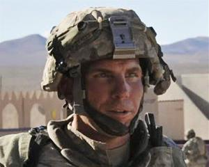 In this Aug. 23, 2011 file photo, Staff Sgt. Robert Bales participates in an exercise at the National Training Center at Fort Irwin, Calif.