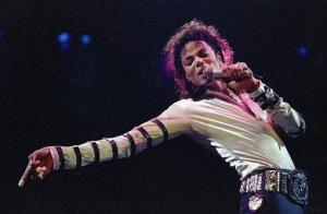 In this Feb. 24, 1988 file photo, Michael Jackson dances in Kansas City.