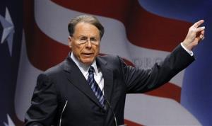 National Rifle Association Executive Vice President and CEO Wayne LaPierre, in a file photo.