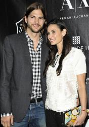 Ashton Kutcher and Demi Moore in 2011.