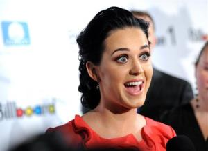 Singer Katy Perry attends Billboard's Women in Music 2012 luncheon at Capitale on Friday Nov. 30, 2012 in New York.