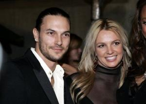 Britney Spears, right, and her husband Kevin Federline are seen in this Feb. 8, 2006 file photo in Beverly Hills, Calif.