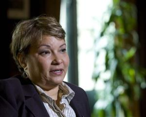 This photo April 17, 2012 file photo shows Environmental Protection Agency Administrator Lisa Jackson during an interview with the Associated Press at EPA Headquarters in Washington.