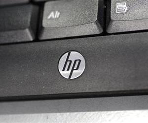 A Hewlett-Packard keyboard.