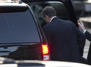 House Speaker John Boehner of Ohio leaves the White House Friday.