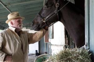 In this undated image released by HBO, Nick Nolte appears in a scene from the HBO original series Luck. A drama set at a California racetrack, HBO canceled the horse racing series after a third horse died during the production of the series.