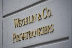 In this Jan. 27, 2012 file photo, the headquarters of the bank Wegelin und Co, is photographed in St. Gallen, Switzerland.