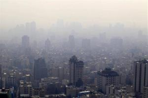 Air pollution blankets the skyline in Tehran, Iran, Friday, Jan. 4, 2013.