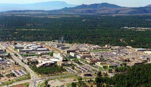 The Los Alamos National Laboratory in Los Alamos, NM.