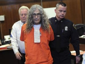 Convicted serial killer Rodney Alcala appears in court in New York, Monday, Jan. 7, 2013.