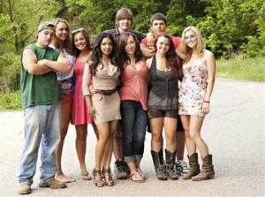 This undated image released by MTV shows the cast of the new reality series Buckwild.