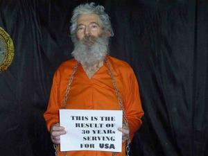 This undated photo provided by the Levinson family  shows retired FBI agent Robert Levinson.