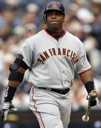 San Francisco Giants' Barry Bonds in 2006.