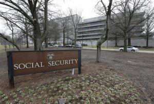 The Social Security Administration's main campus is seen in Woodlawn, Md., Friday, Jan. 11, 2013.