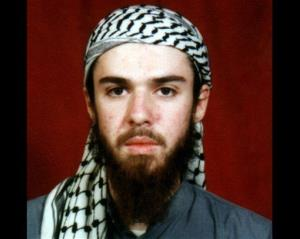 This  undated file photo obtained from a religious school where he studied for five months in Pakistan, shows American-born Taliban fighter John Walker Lindh.