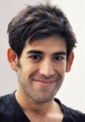 This Dec. 8, 2012 photo provided by ThoughtWorks shows Aaron Swartz, in New York. Swartz, a co-founder of Reddit, hanged himself Friday, Jan. 11, 2013, in New York City.