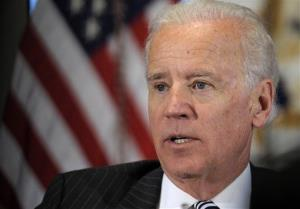 In this Jan. 11, 2013, file photo, Vice President Joe Biden speaks during a meeting with representatives from the video game industry.