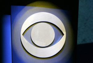 This file photo taken Jan. 9, 2007 shows the CBS logo in Las Vegas.