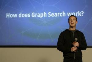 Mark Zuckerberg speaks at Facebook headquarters in Menlo Park, Calif., Tuesday.