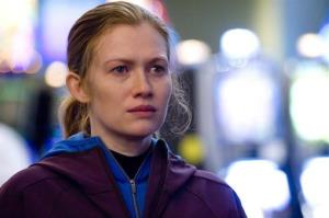 Mireille Enos in a scene from The Killing.