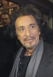 Al Pacino attends the Dublin film festival's showing of Wilde Salome at the Savoy Cinema, Dublin, Ireland, Monday, Feb. 20, 2012.