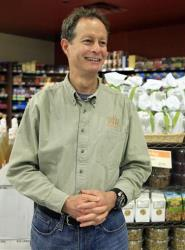 In this Nov. 18, 2009 photo, Whole Foods CEO John Mackey is photographed in one of his stores on New York's Upper West Side.